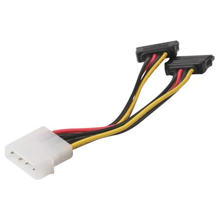 Cable Sata Power Doble