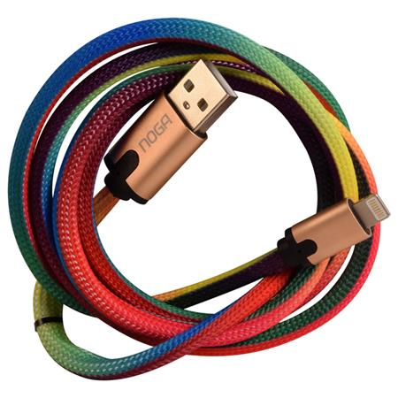 Cable Multicolor USB a Lightning